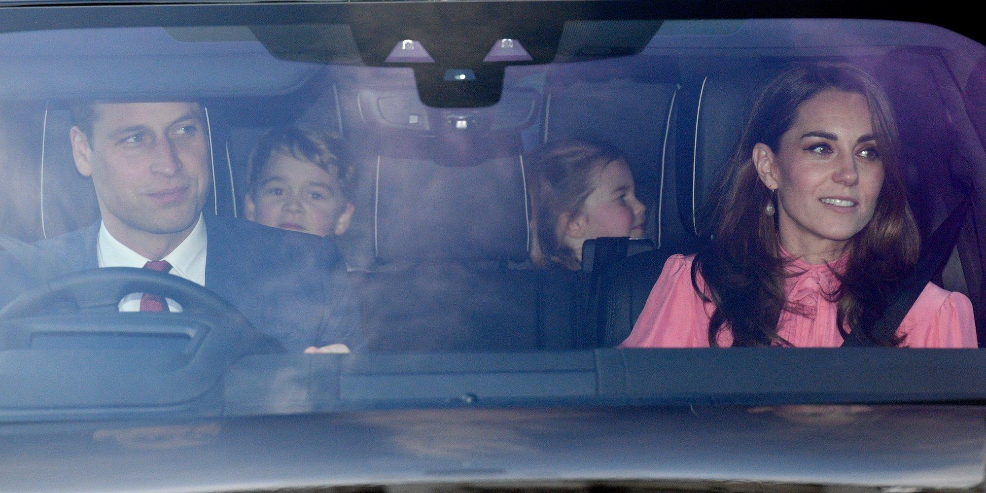Almuerzo navideño de la Familia Real Británica: del regreso del Duque de Edimburgo a los Príncipes Jorge y Carlota