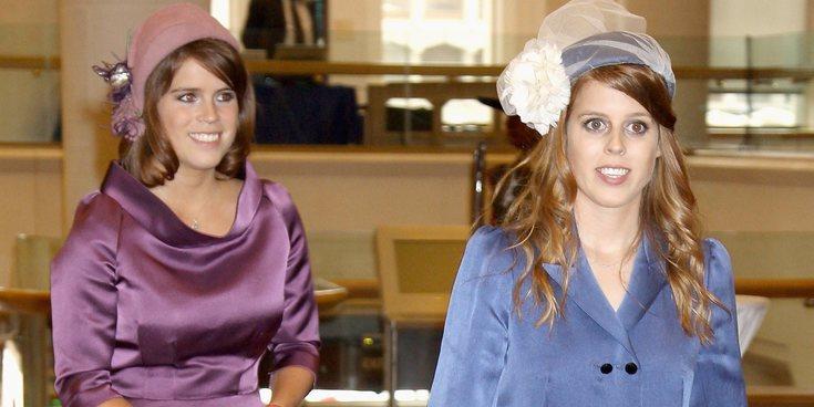 Los motivos por los que Beatriz y Eugenia de York dieron mucho de lo que hablar en el almuerzo navideño de Buckigham Palace