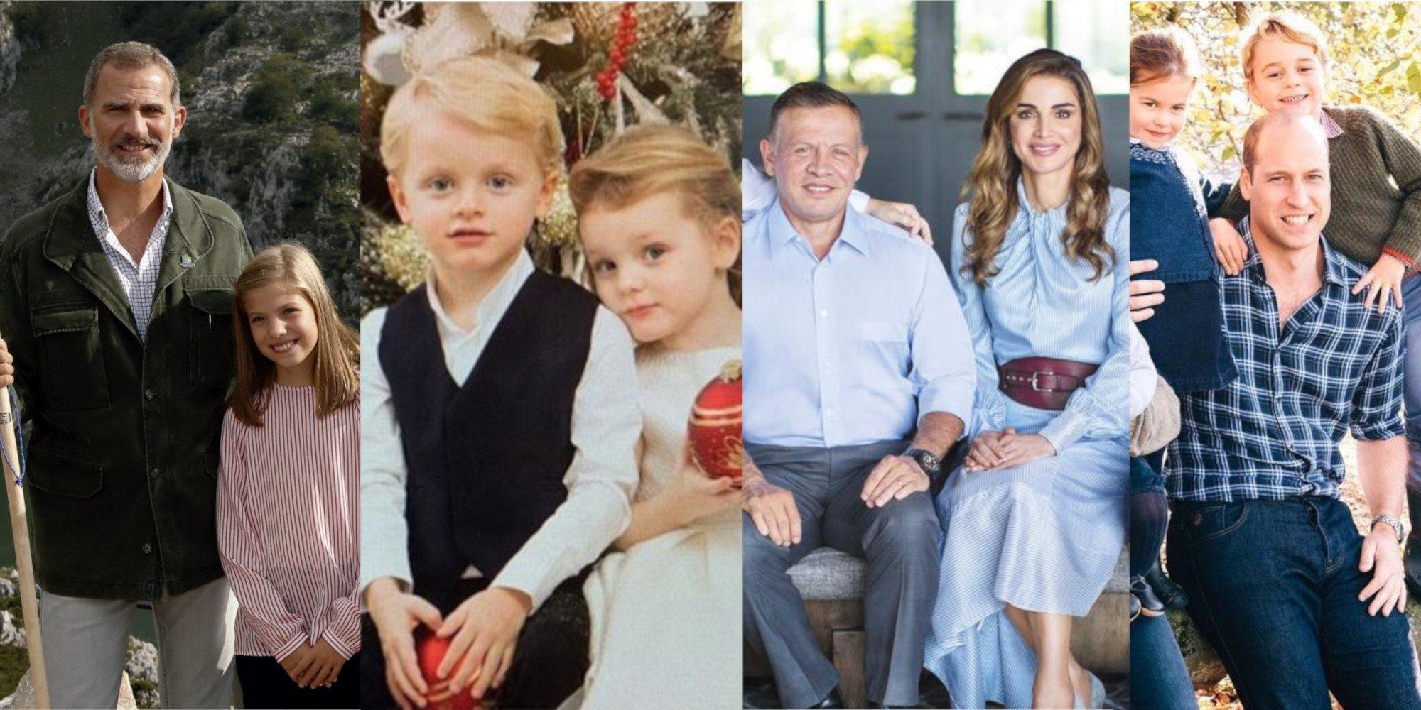 Así han sido las felicitaciones navideñas de las diferentes Casas Reales: familiares, espontáneas y todo sonrisas