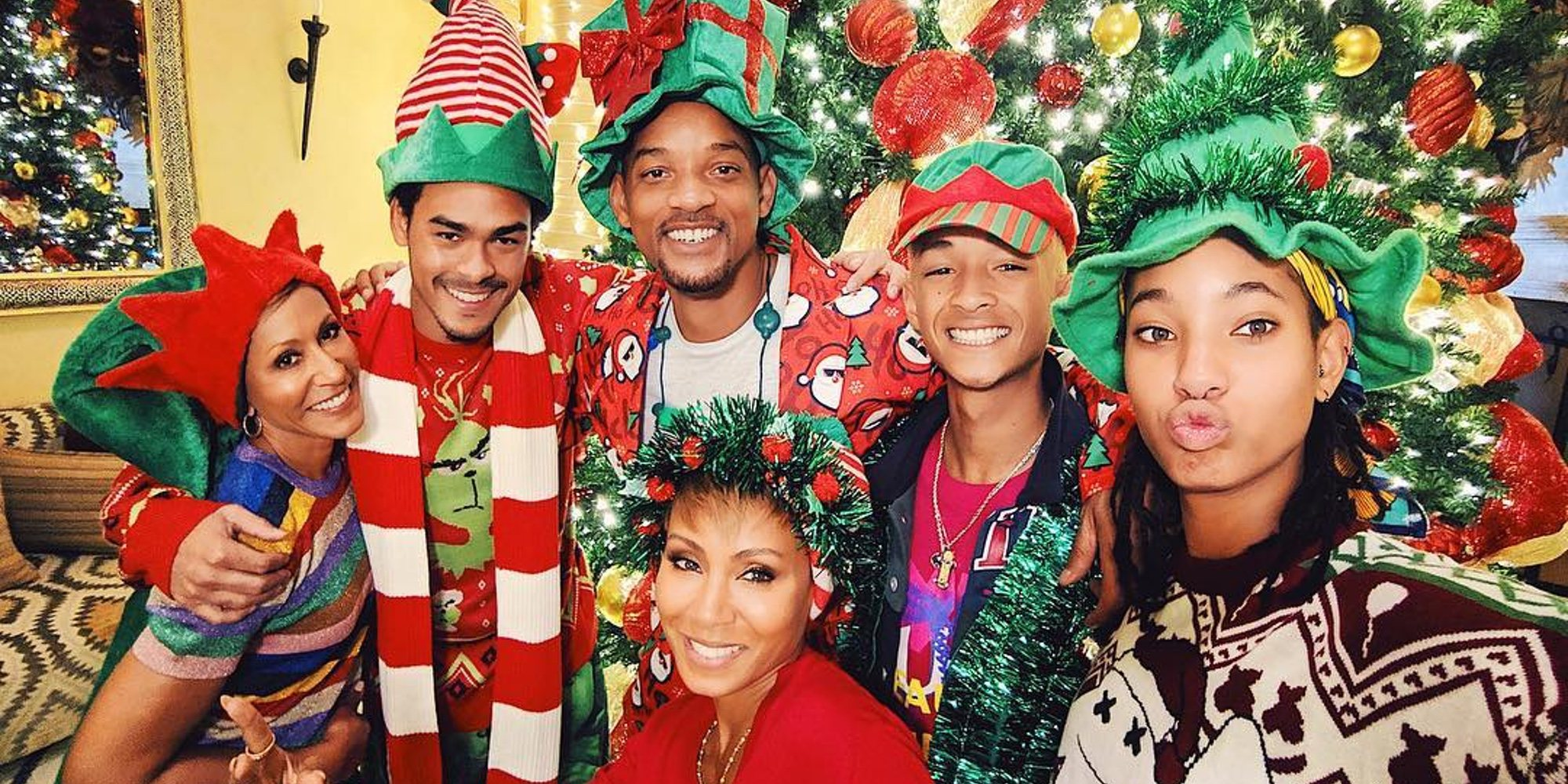 Will Smith, Nick Jonas,  Jennifer Lopez... Así celebraron las celebrities internacionales la Navidad