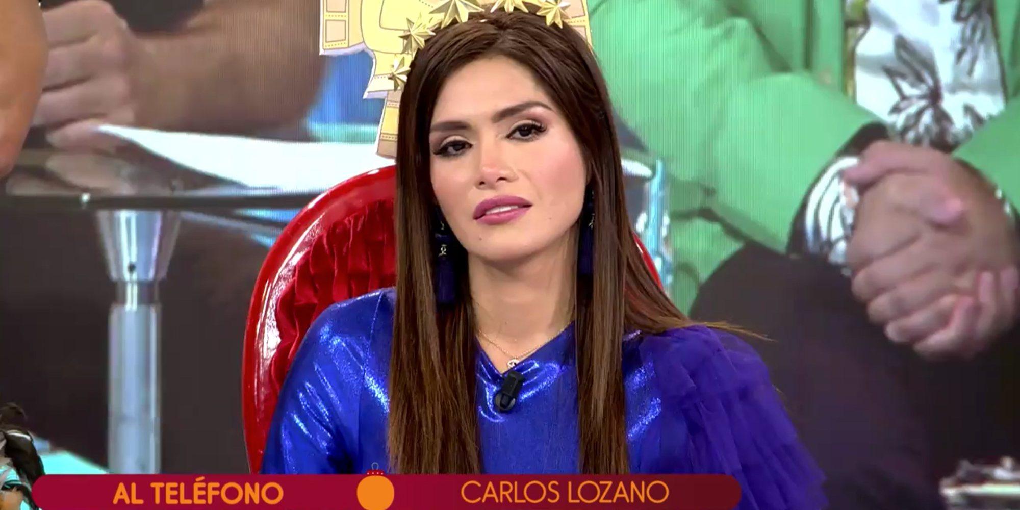 """Carlos Lozano llama a 'Sálvame' para arremeter contra Miriam: """"Eres una sinvergüenza y una montajista"""""""
