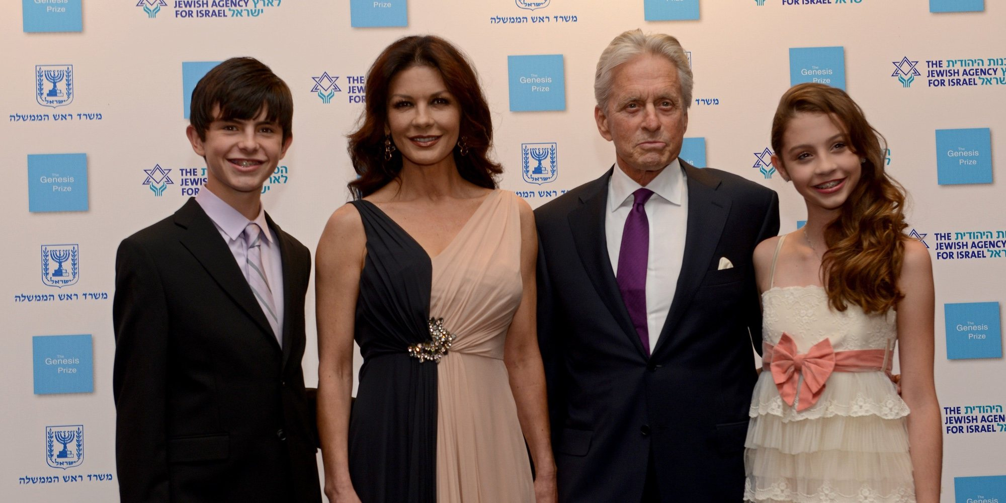 Catherine Zeta-Jones y Michael Douglas celebran fin de año en el 'paraíso' junto a sus hijos