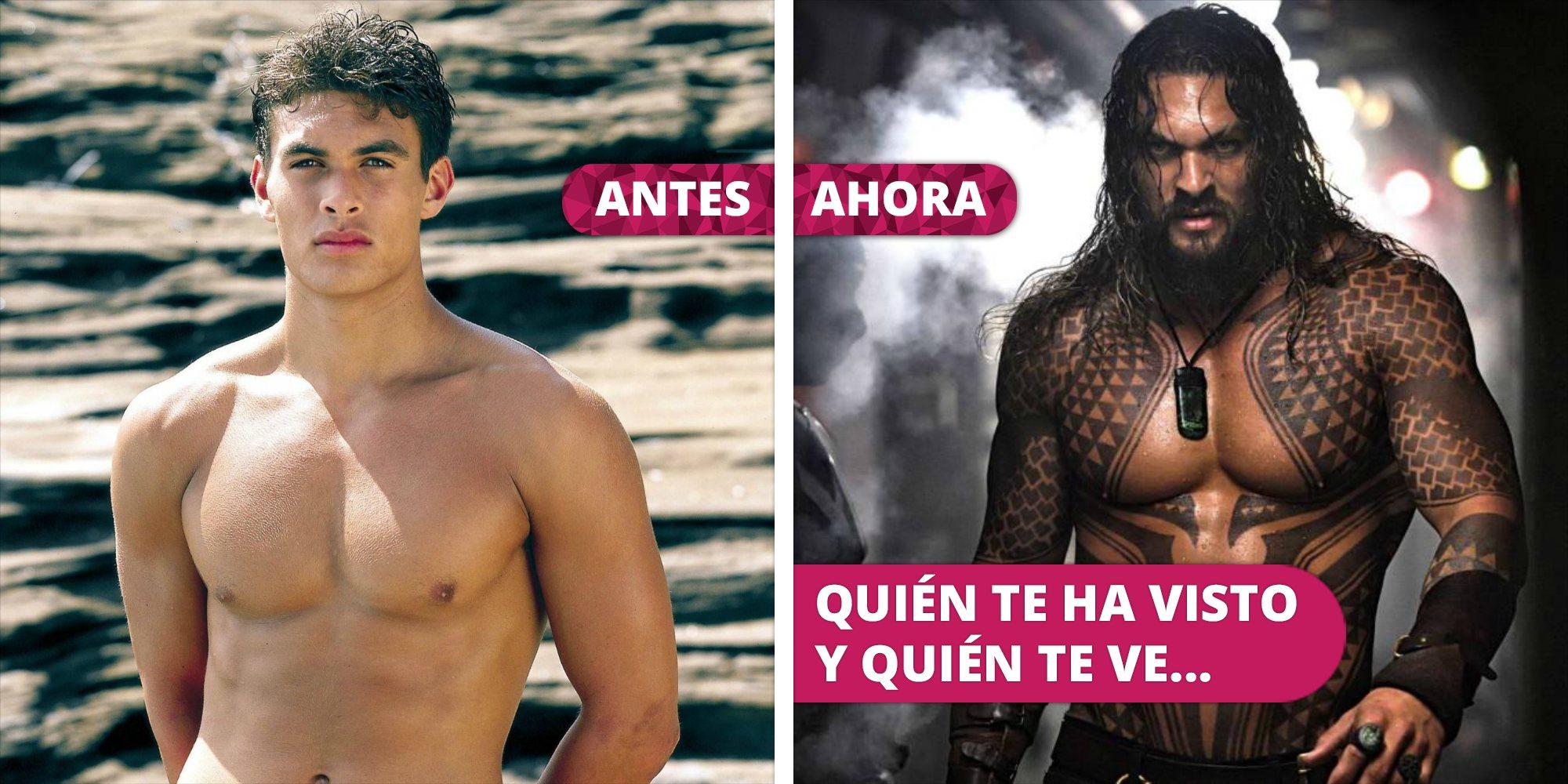 Así ha cambiado Jason Momoa: De 'Los vigilantes de la playa' a 'Aquaman'