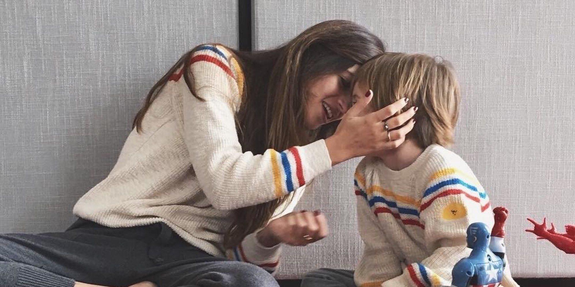 """La preciosa felicitación de Sara Carbonero a su hijo Martín en su quinto cumpleaños: """"Da un poco de vértigo"""""""