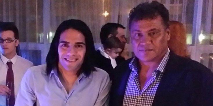 Muere el padre de Falcao, Radamel García King, mientras jugaba un partido de tenis