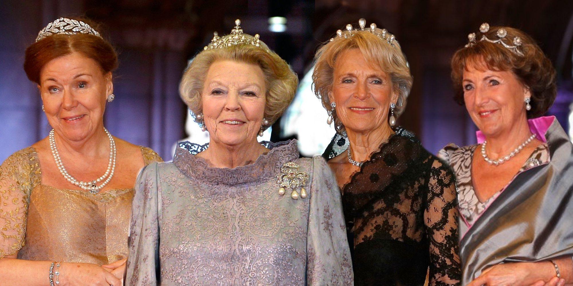 Así son y así se llevan Beatriz de Holanda y sus hermanas: el 'matriarcado' de las Orange-Nassau