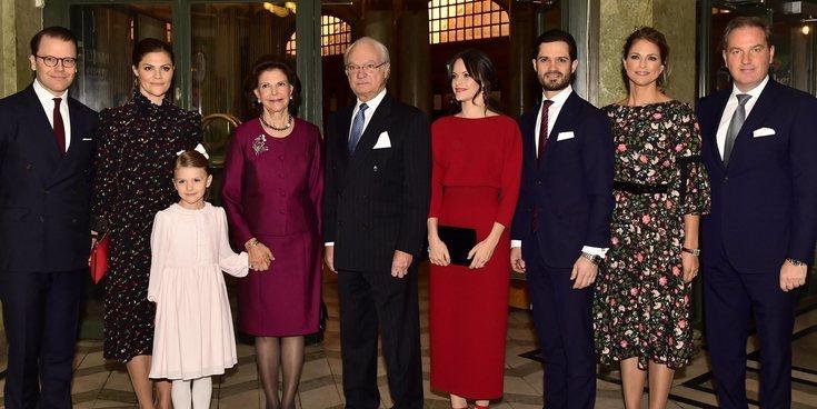 Así están siendo las navidades de la Familia Real Sueca: entre reencuentros, discursos y deporte