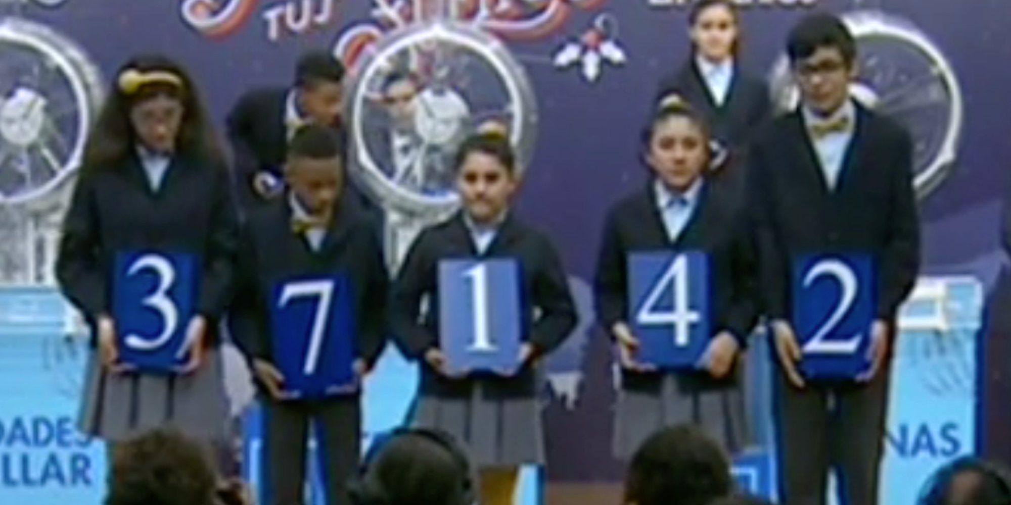 Todos los números premiados de la Lotería de El Niño 2019: 37142, el primer premio