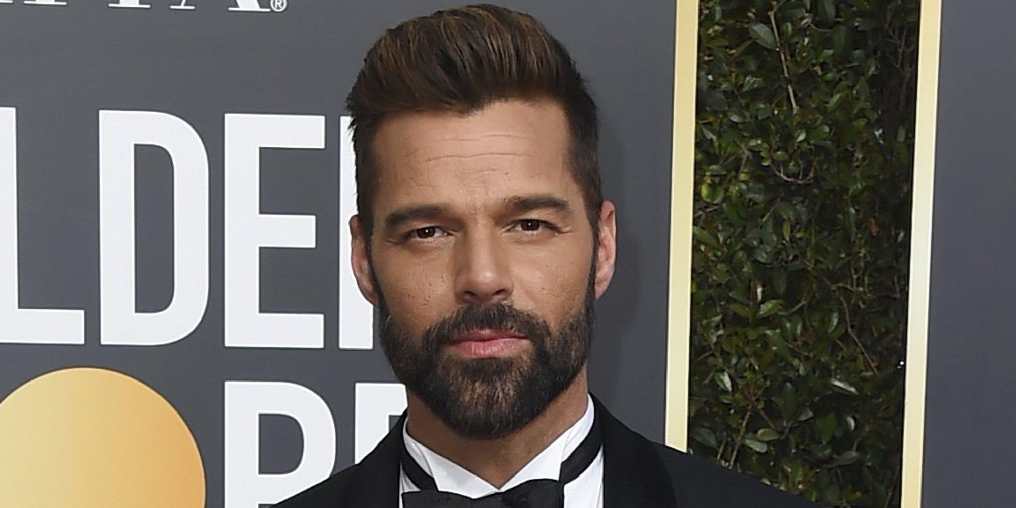 Ricky Martin, aprovechando al máximo el tiempo con su hija Lucía mientras se prepara para los Globos de Oro
