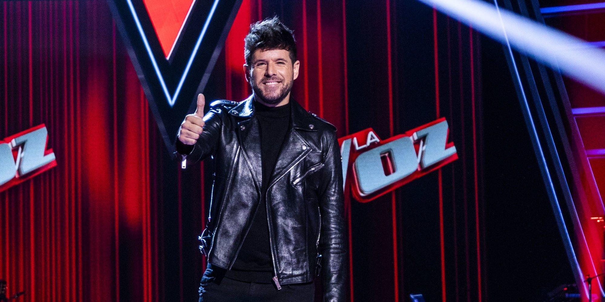 Pablo López no puede contener las lágrimas al escuchar a una de las concursantes de 'La Voz'