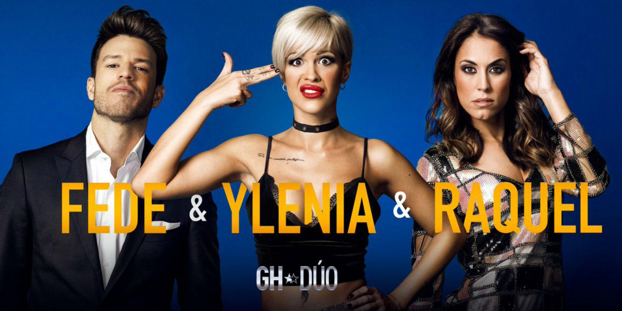 Ylenia Padilla, Fede Rebecchi y Raquel ('GH 16') forman el segundo trío de 'GH DÚO'