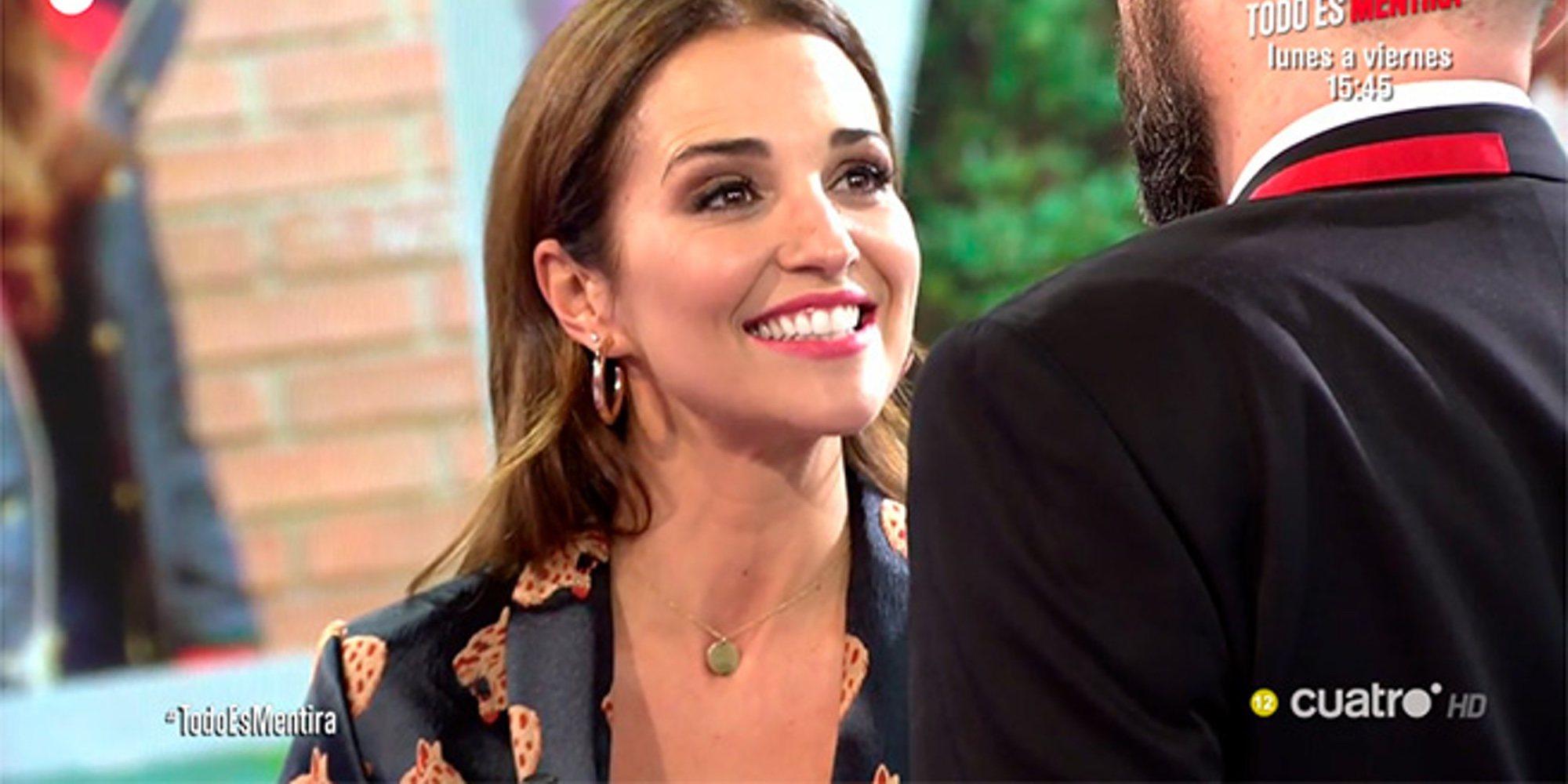 Las risas de Paula Echevarría en 'Todo es mentira' hablando de David Bustamante y su 'casoplón'