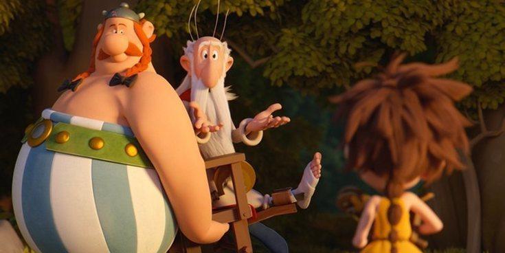 'El vicio del poder' y 'Astérix: El secreto de la poción mágica' lideran los estrenos de la semana