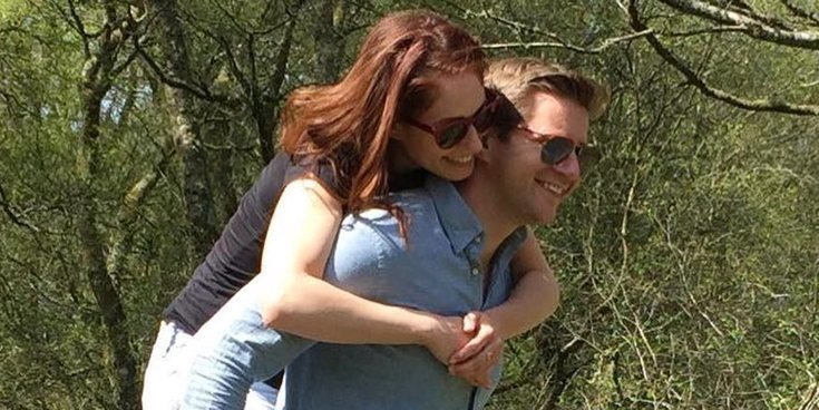 Allen Leech y Jessica Blair Herman celebran su boda en California entre lluvia e imprevistos