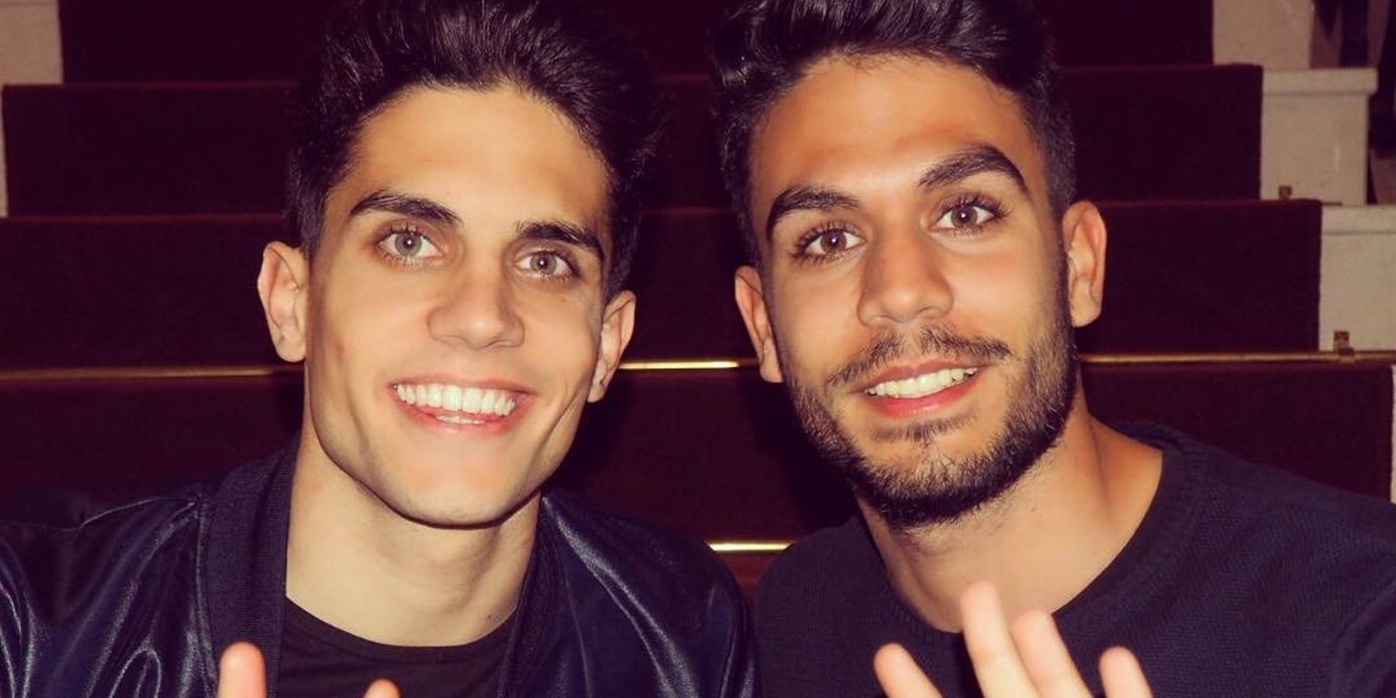 Marc Bartra celebra su cumpleaños con su hermano gemelo, Èric Bartra