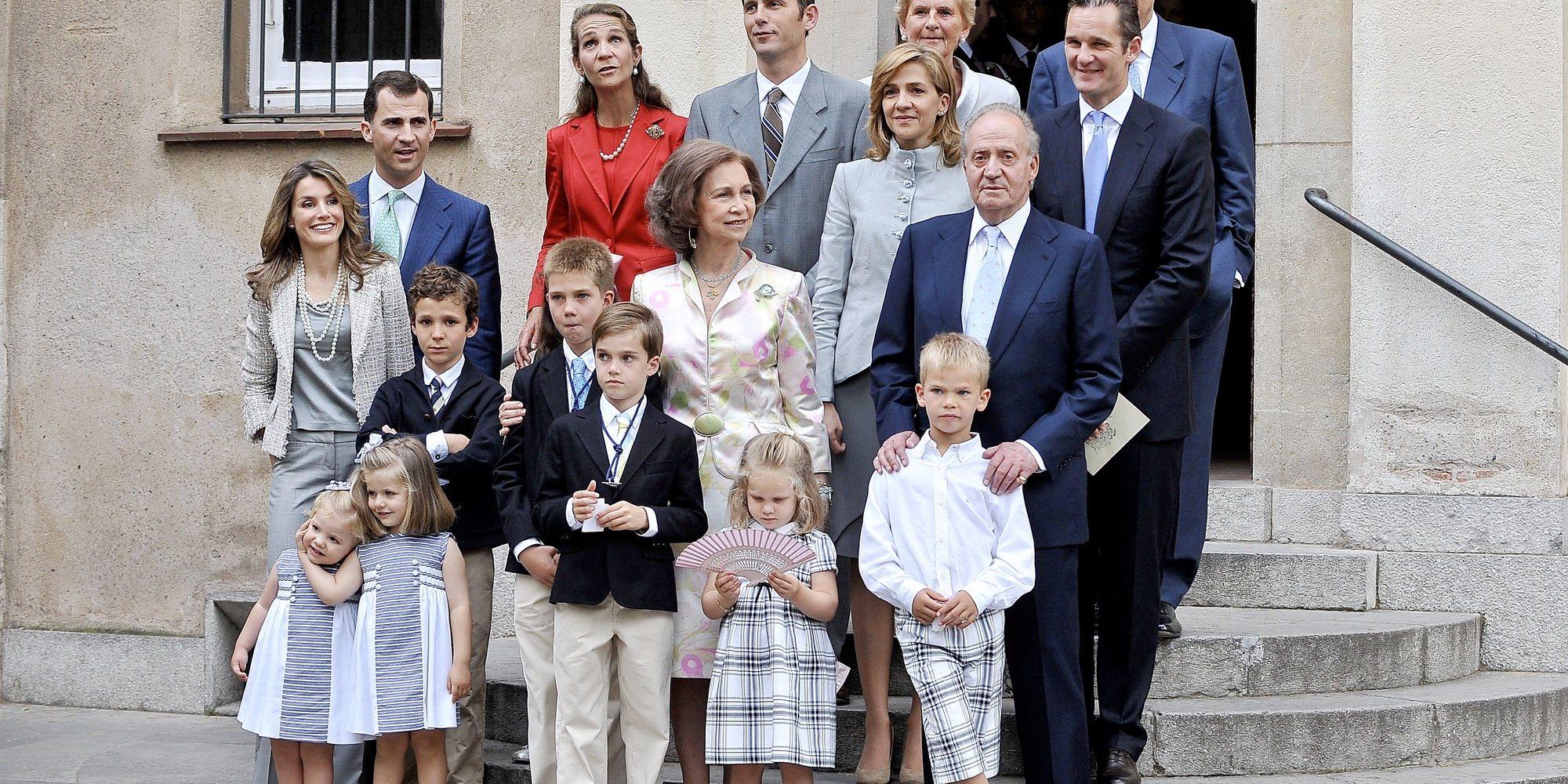 El 10 Years challenge de la Familia Real: cambios físicos, una ausencia y una imagen irrepetible