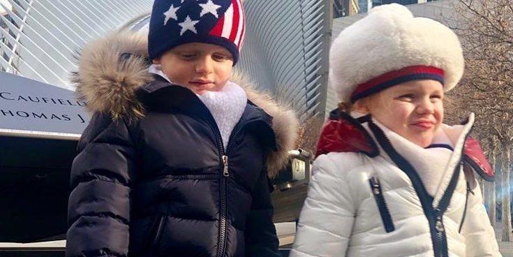 La divertida aventura de Jacques y Gabriella de Mónaco en Estados Unidos: así fue su primer viaje a Nueva York