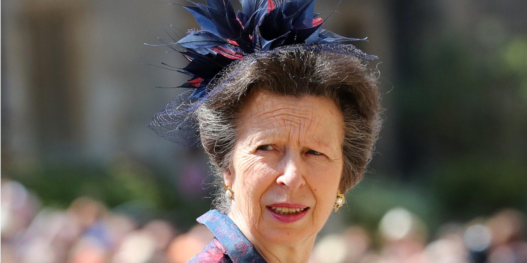 La desagradable respuesta de la Princesa Ana al ser preguntada por el accidente del Duque de Edimburgo