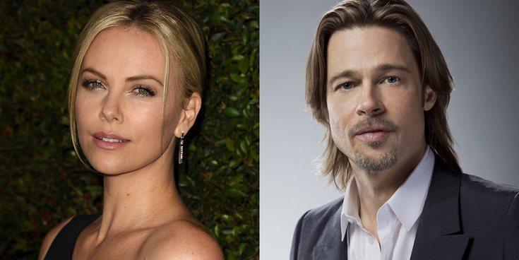 Brad Pitt y Charlize Theron, pillados juntos