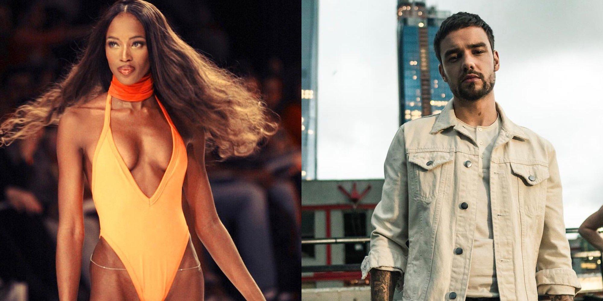 Liam Payne y Naomi Campbell flirtean en las redes sociales