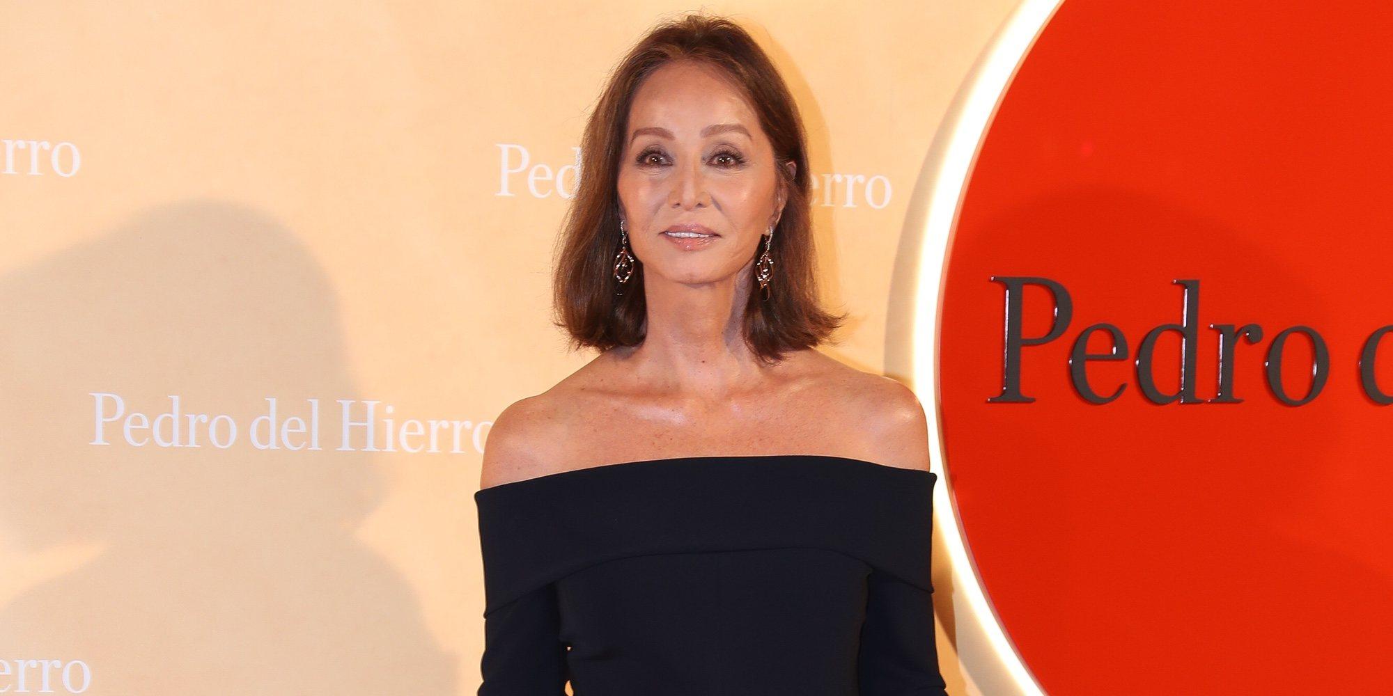 """Isabel Preysler habla del embarazo de Ana Boyer: """"Me gustaría tenerla más cerca"""""""