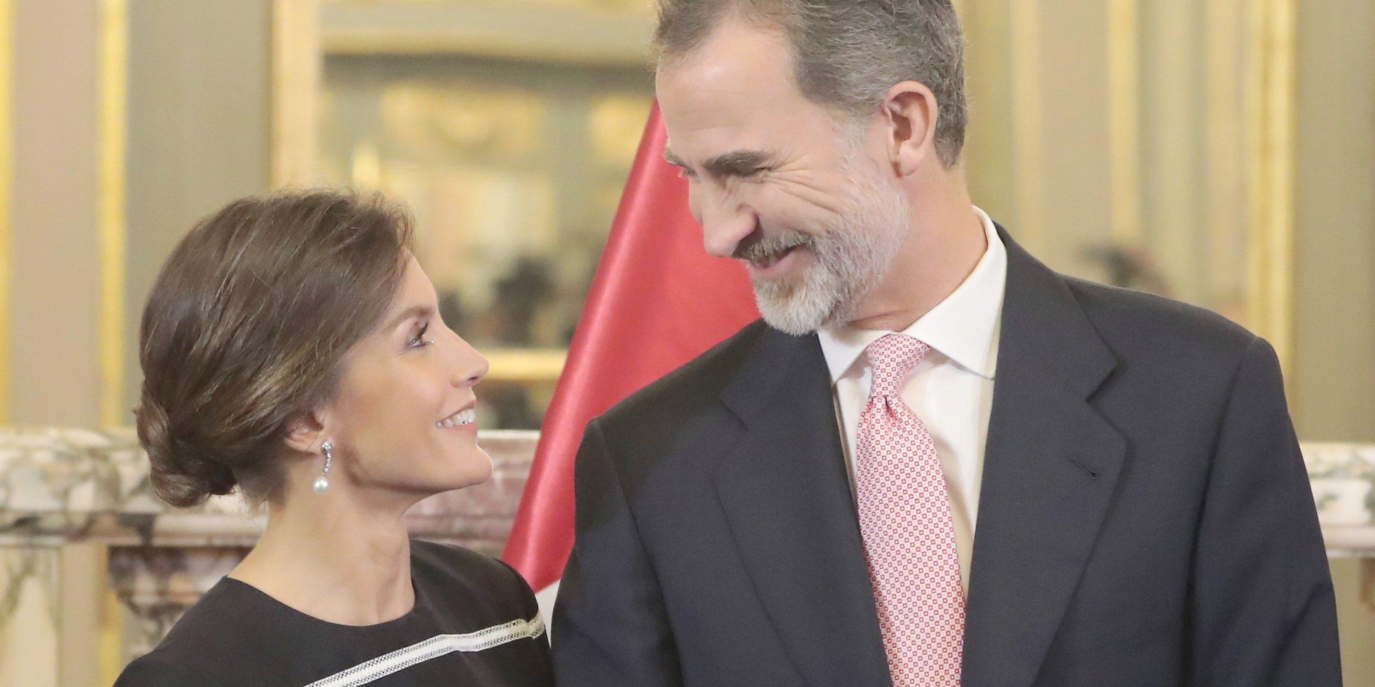 Los detalles de la cena romántica de los Reyes Felipe y Letizia en Madrid