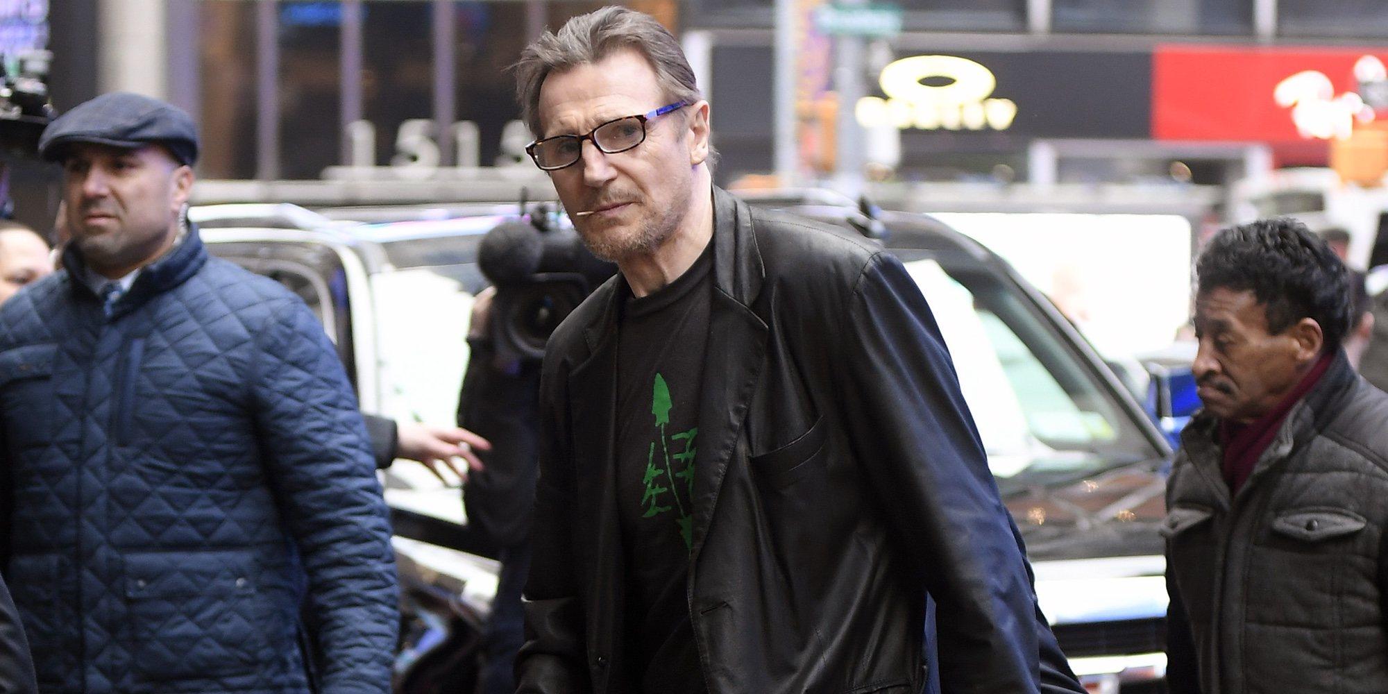Liam Neeson condenado en redes sociales por racista tras decir que va a matar a un negro
