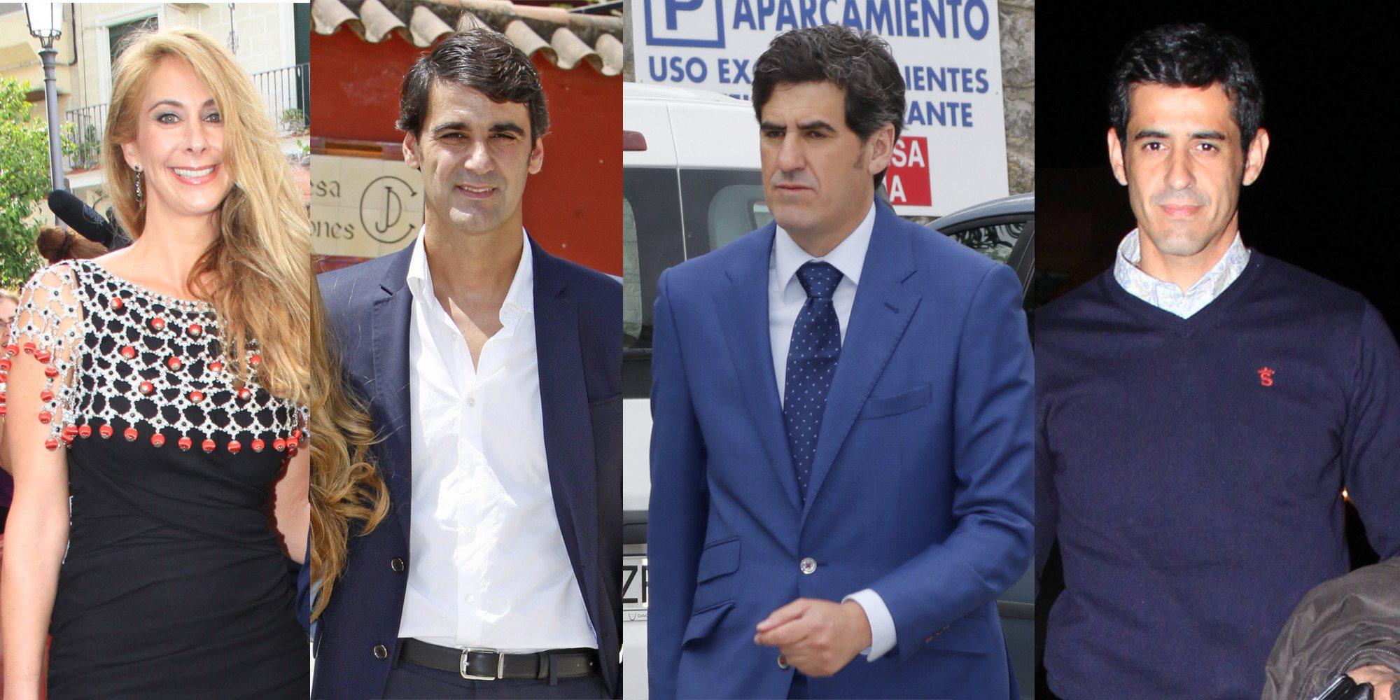 Así son y así se llevan Víctor, Carmen y Humberto Janeiro, los tres hermanos de Jesulín de Ubrique