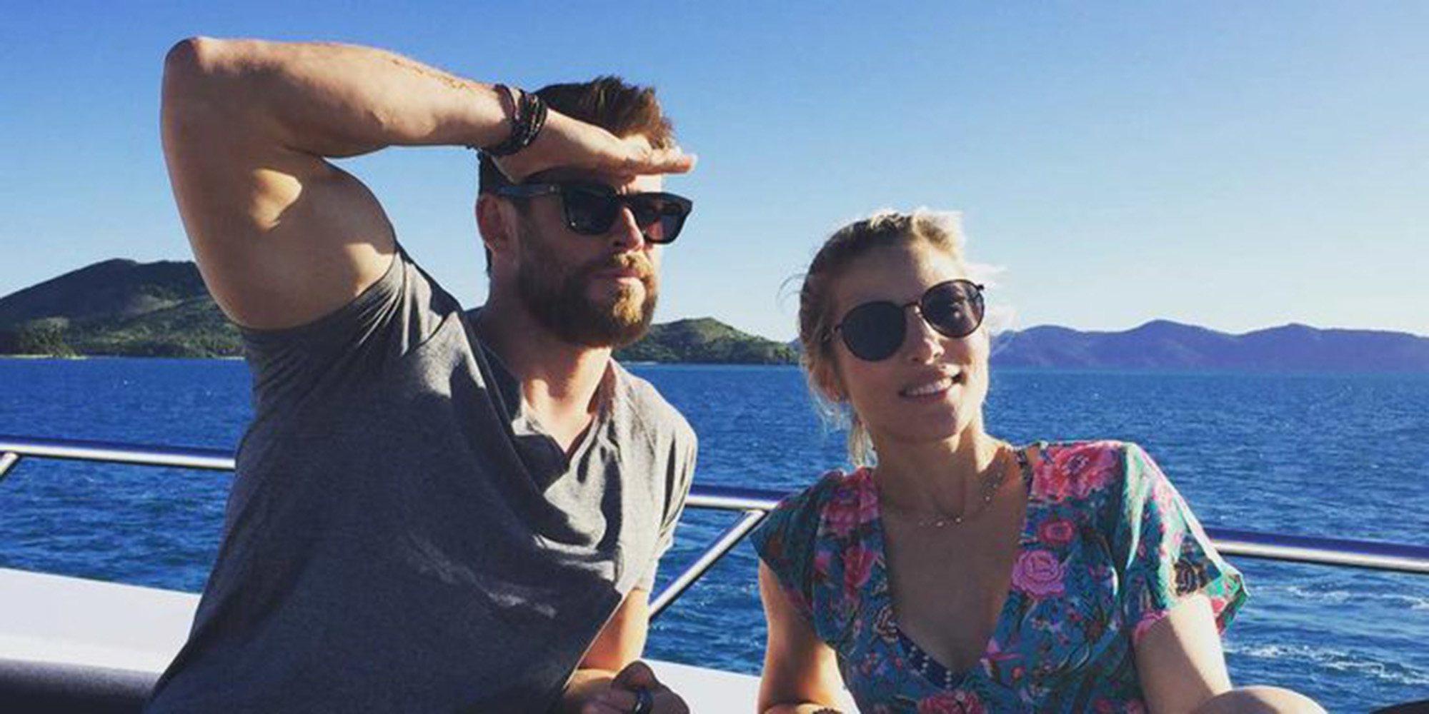 Elsa Pataky y Chris Hemsworth ya tienen sus personajes en 'Los Simpson'