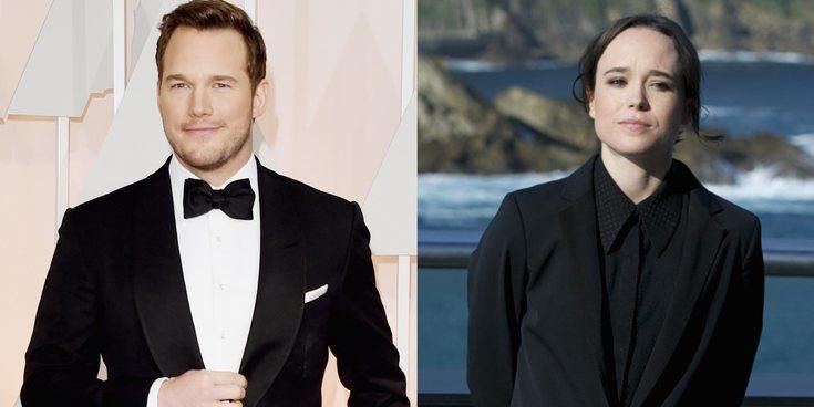 Chris Pratt responde a las críticas de Ellen Page hacia su iglesia