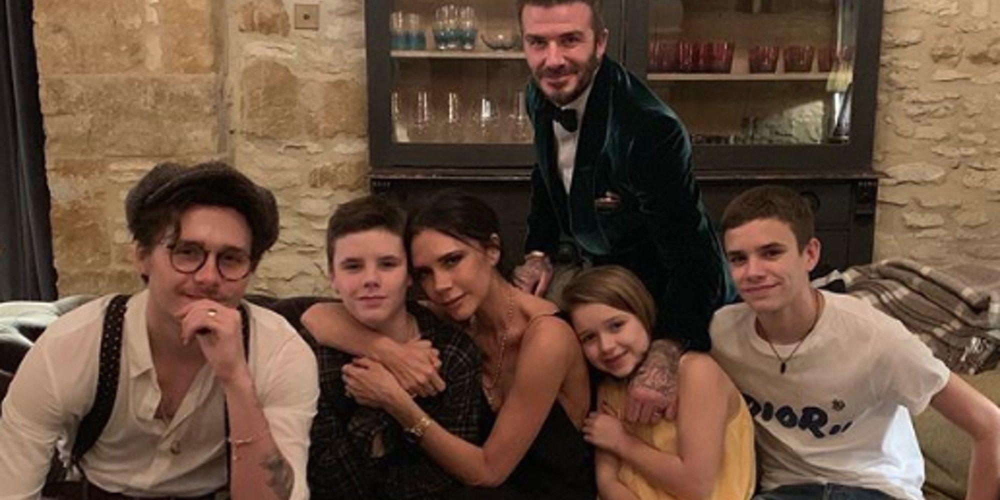 El divertido cumpleaños en familia de Cruz Beckham