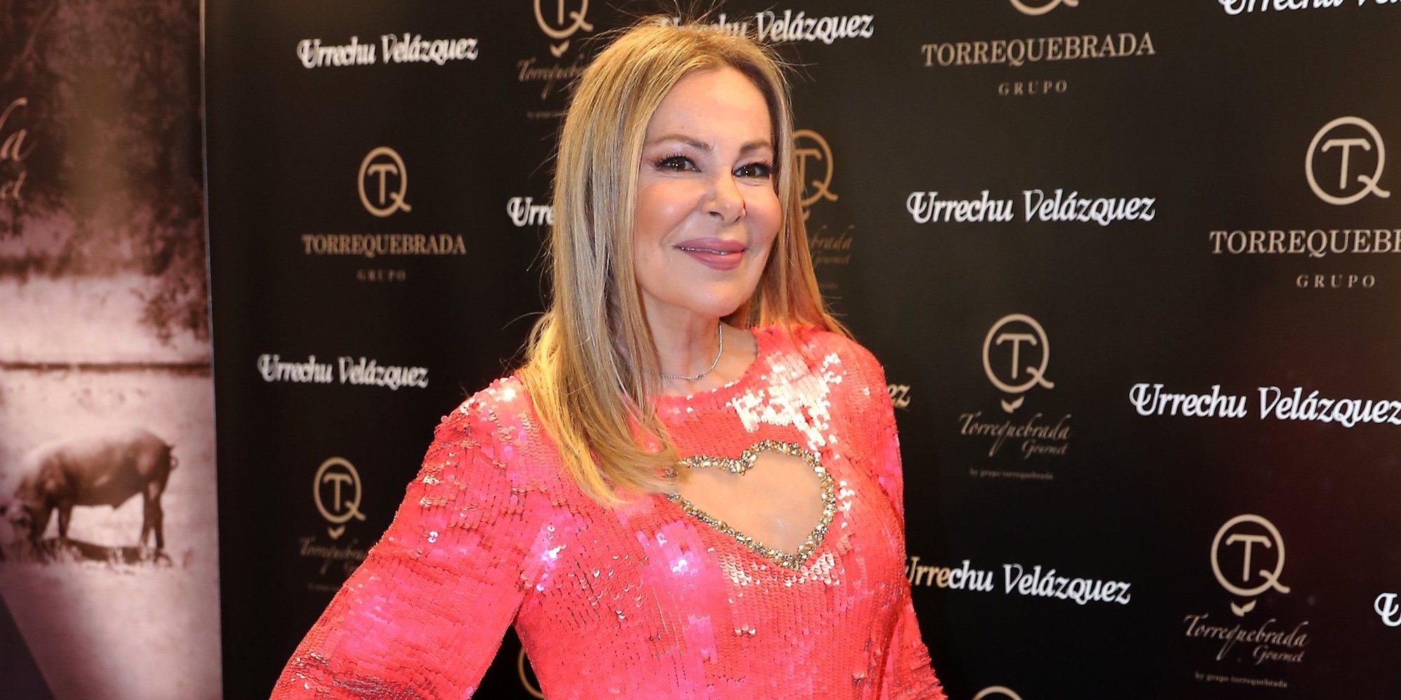 Ana Obregón reprocha a Alessandro Lequio su ausencia durante el tratamiento de su hijo Álex Lequio