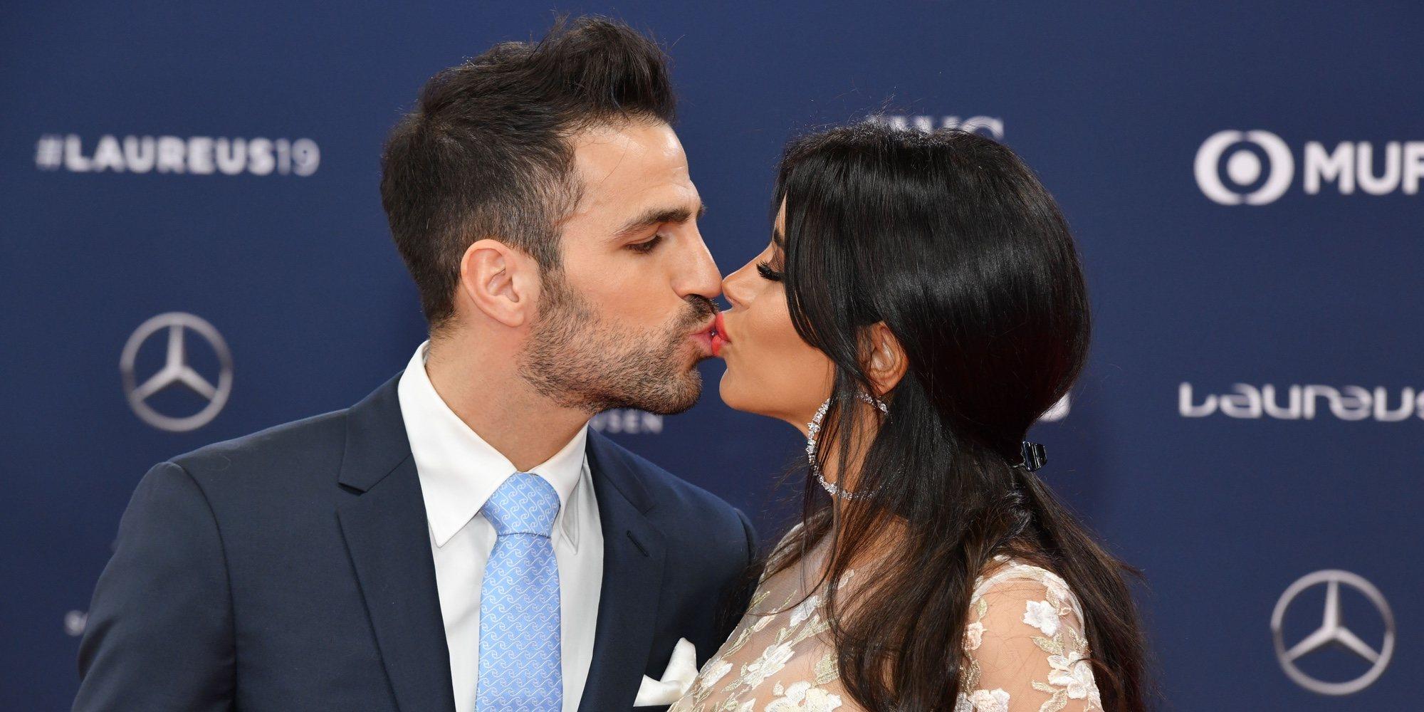 Daniella Semaan, Cesc Fàbregas y otras parejas que se pusieron románticas en los Premios Laureus 2019