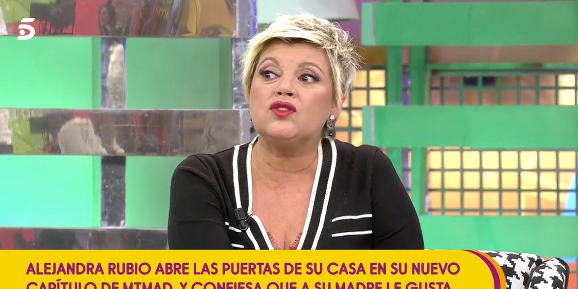 """Terelu Campos da su opinión sobre el reality de su hija Alejandra Rubio: """"Me resulta simpático"""""""