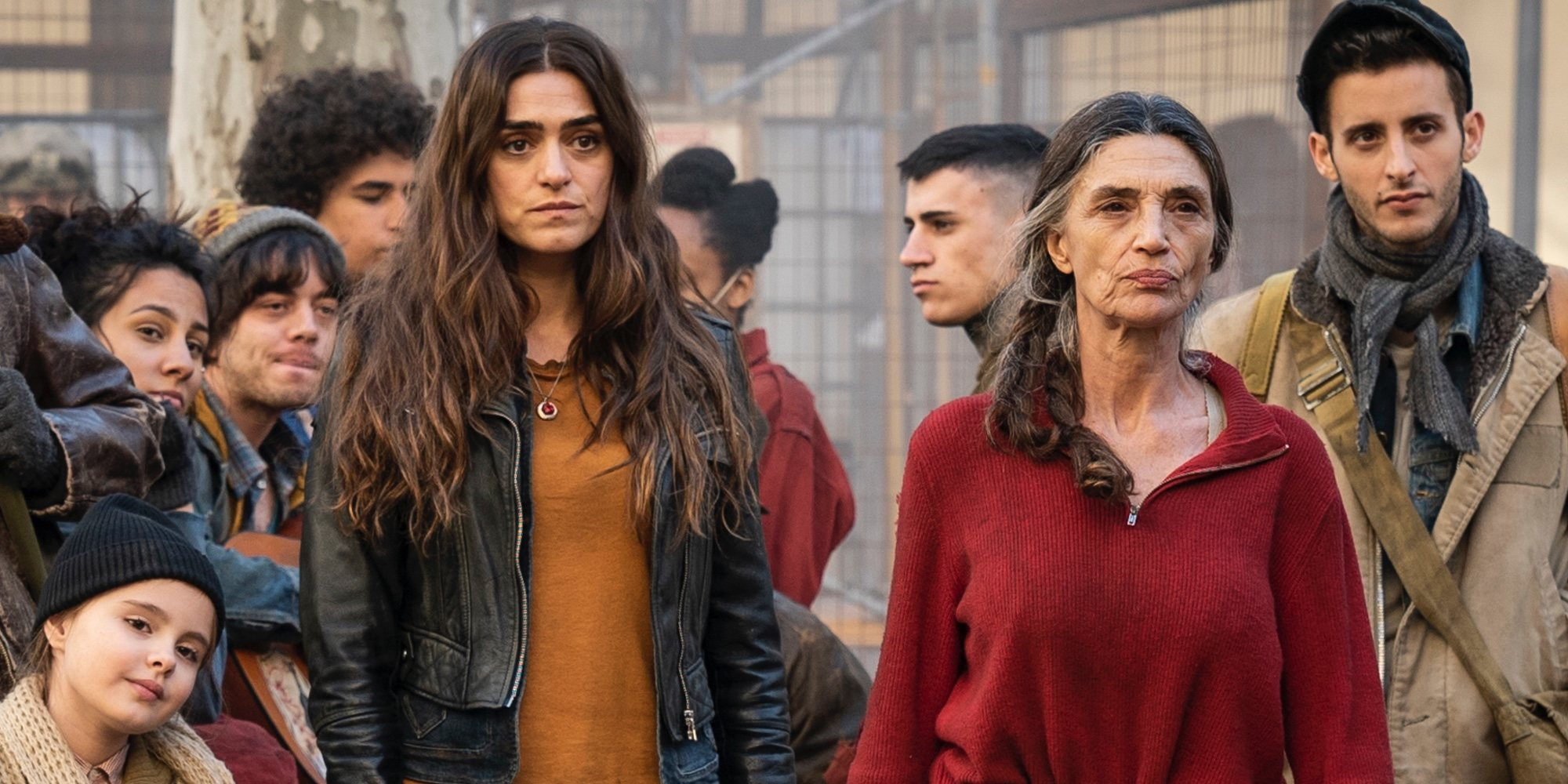 Primera imagen de Ángela Molina y Olivia Molina en 'La Valla', la nueva serie de Antena 3