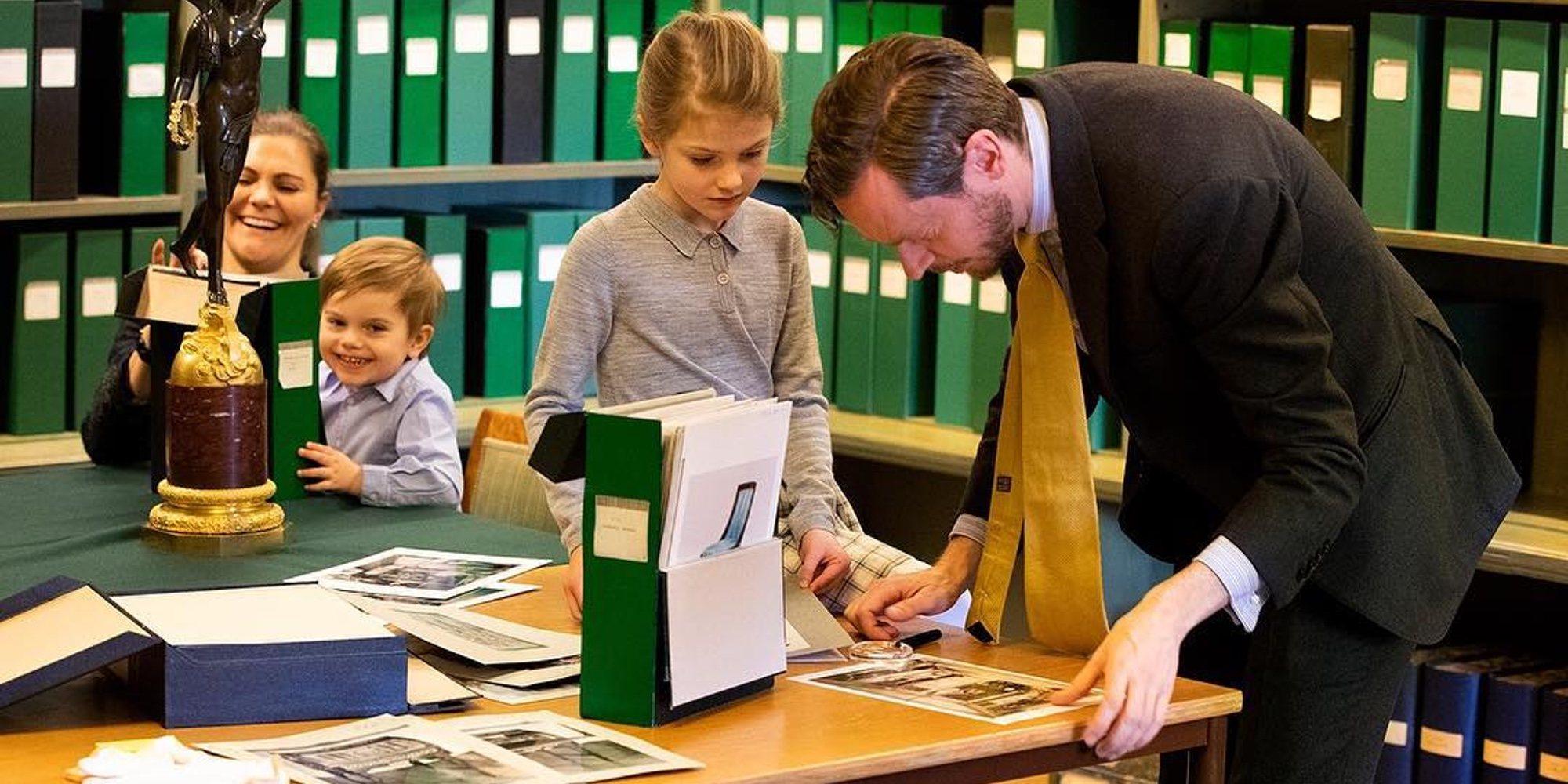 La gran semana de los principitos de Suecia: clases para ser royal, cumpleaños y una retirada
