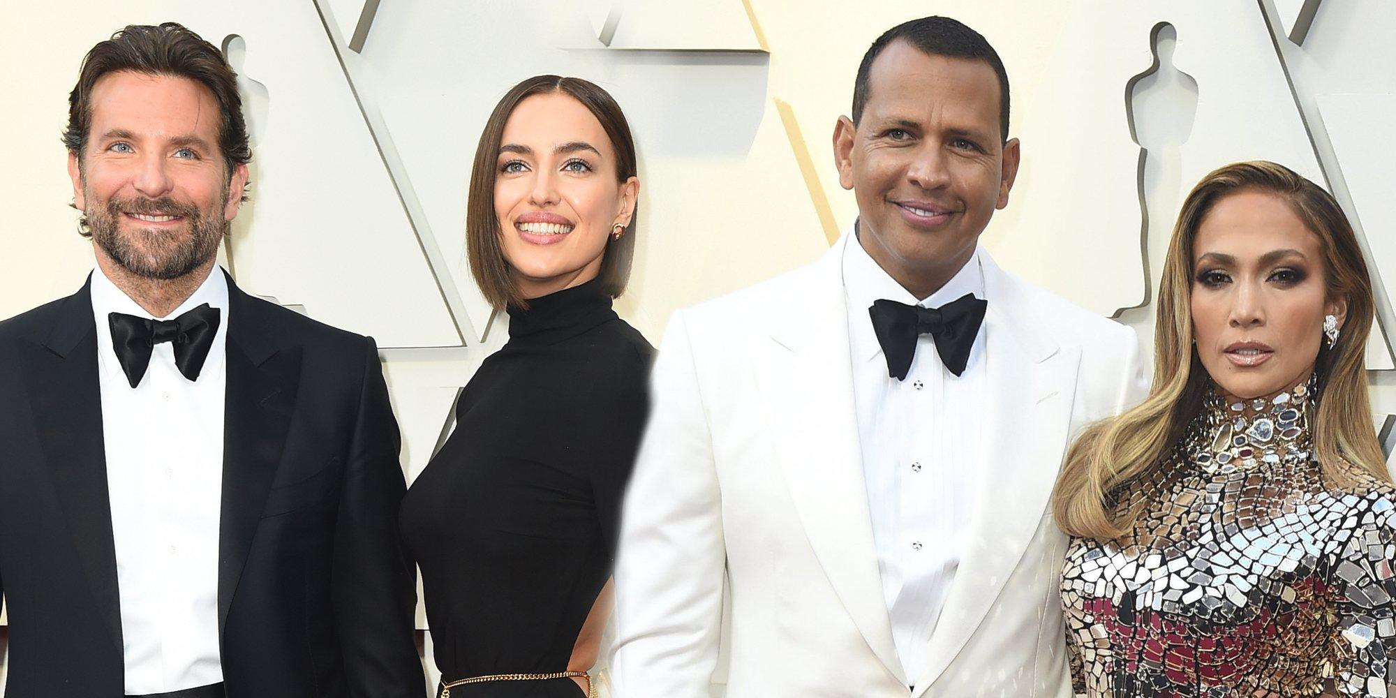 Cooper y Shayk, JLo y Alex Rodriguez... entre las parejas de la alfombra roja de los Oscar 2019