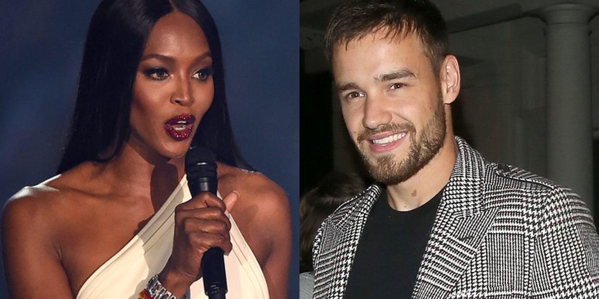 El tonteo de Naomi Campbell y Liam Payne, cada vez más evidente