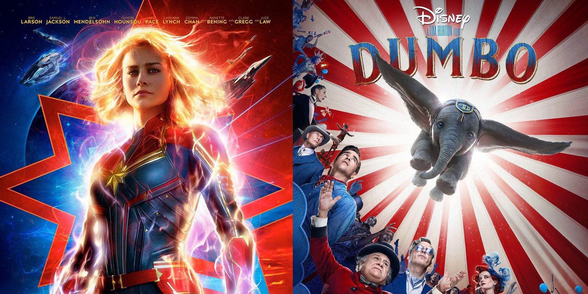 Las 5 películas más esperadas de marzo de 2019