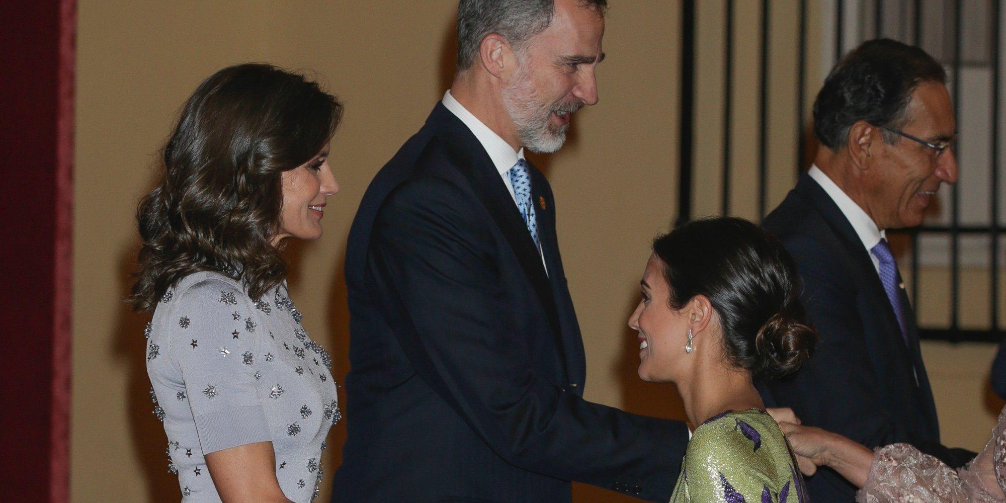 El encuentro de los Reyes Felipe y Letizia con sus primos Christian de Hannover y Alessandra de Osma