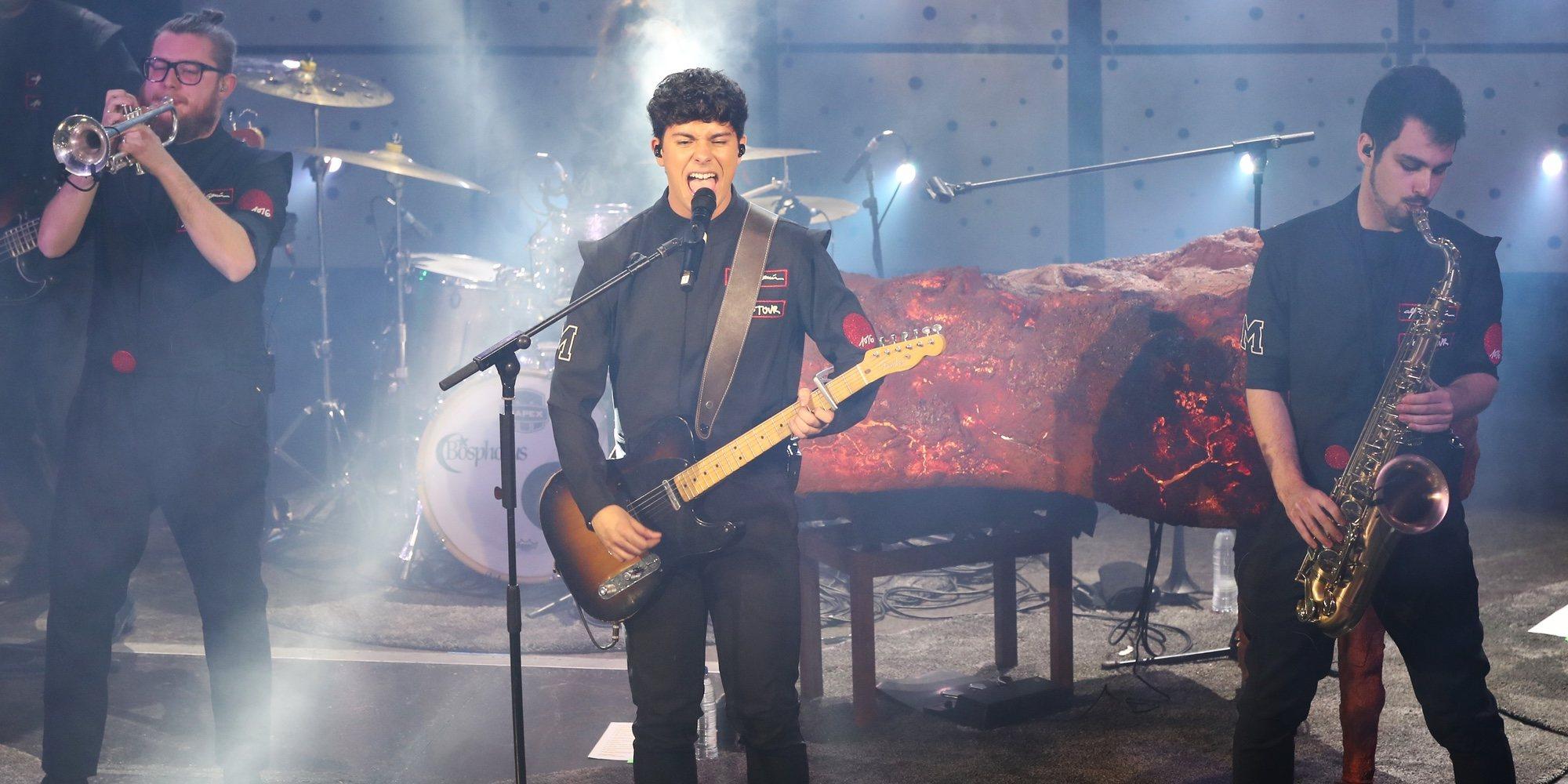Alfred García: dos noches en Madrid derrochando pasión por la música como una rockstar