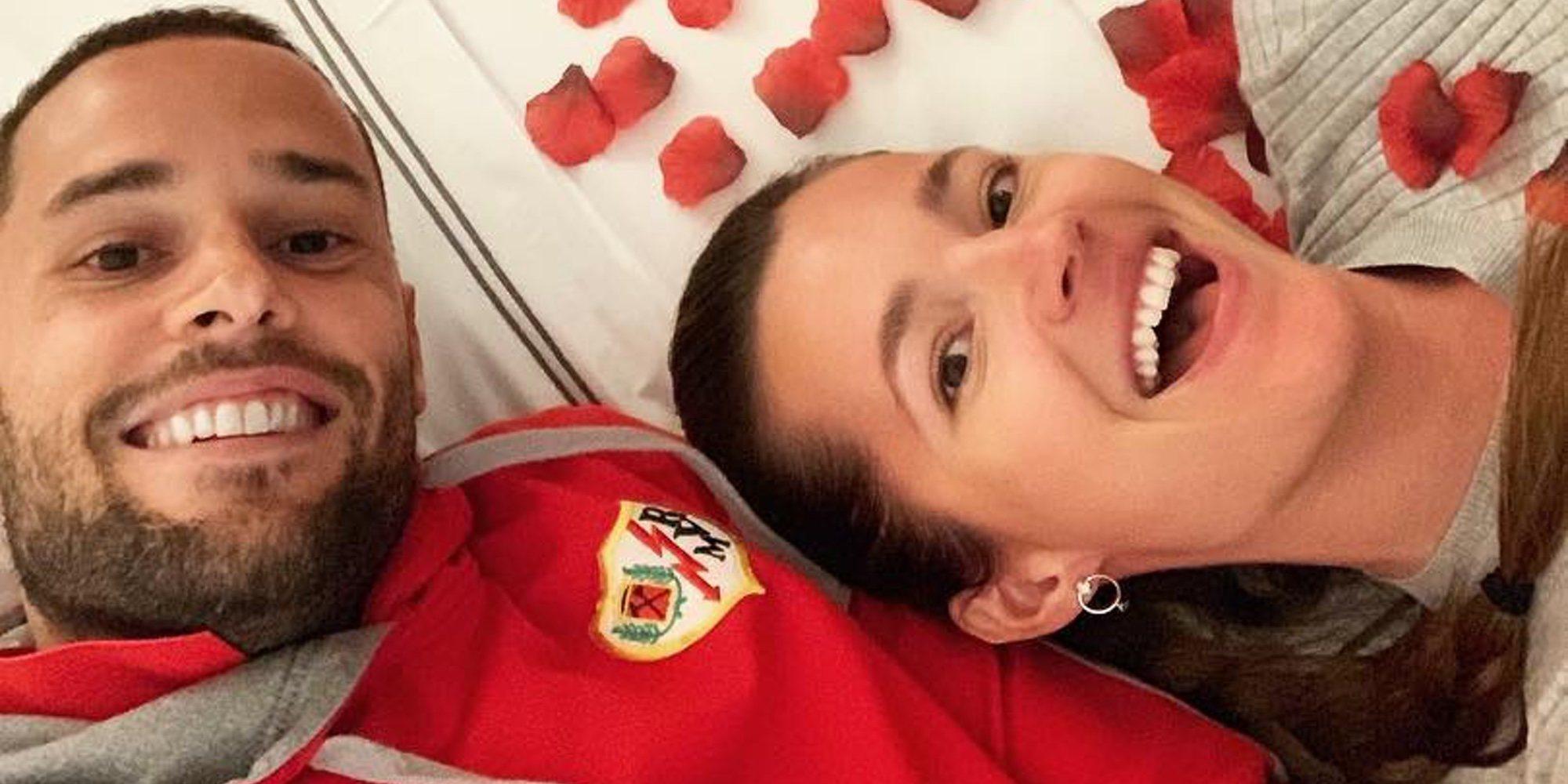 Malena Costa y Mario Suárez celebran sus siete años de amor a lo grande