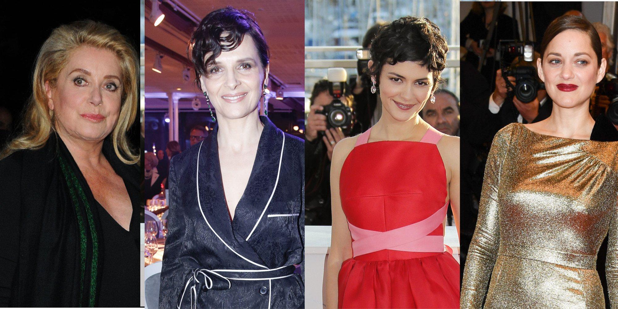 Las 6 actrices francesas más internacionales: talento, dramas y comedias