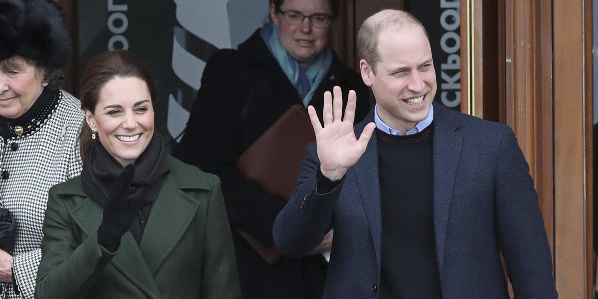 El Príncipe Guillermo revela que por fin ha aprendido a peinar a su hija Carlota
