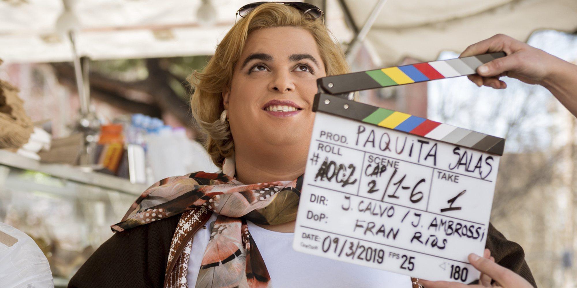 Brays Efe y los Javis vuelven al estudio para el rodaje de la tercera temporada de 'Paquita Salas'