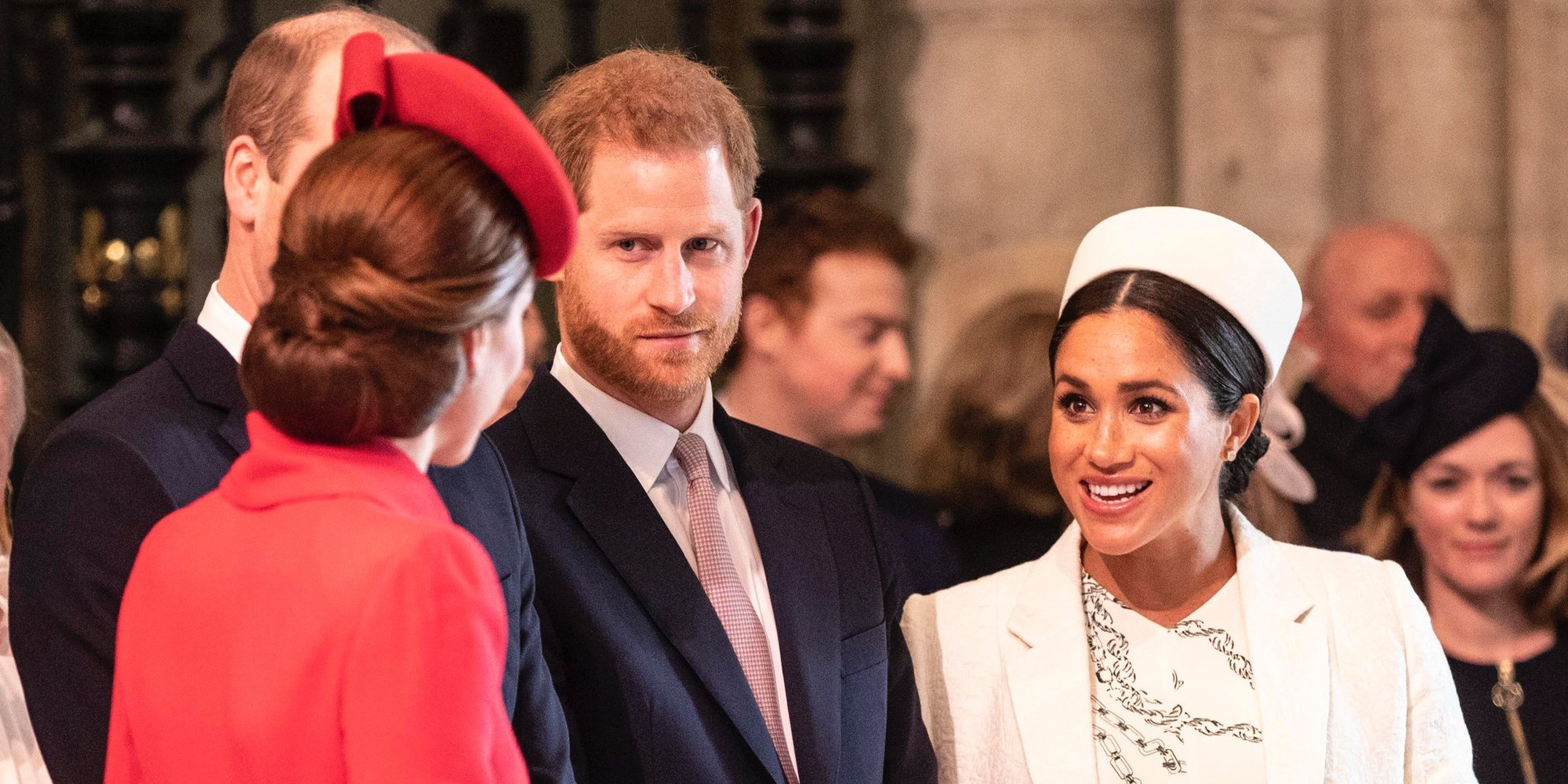 La complicidad entre Kate Middleton y Meghan Markle marca el Día de la Commonwealth 2019