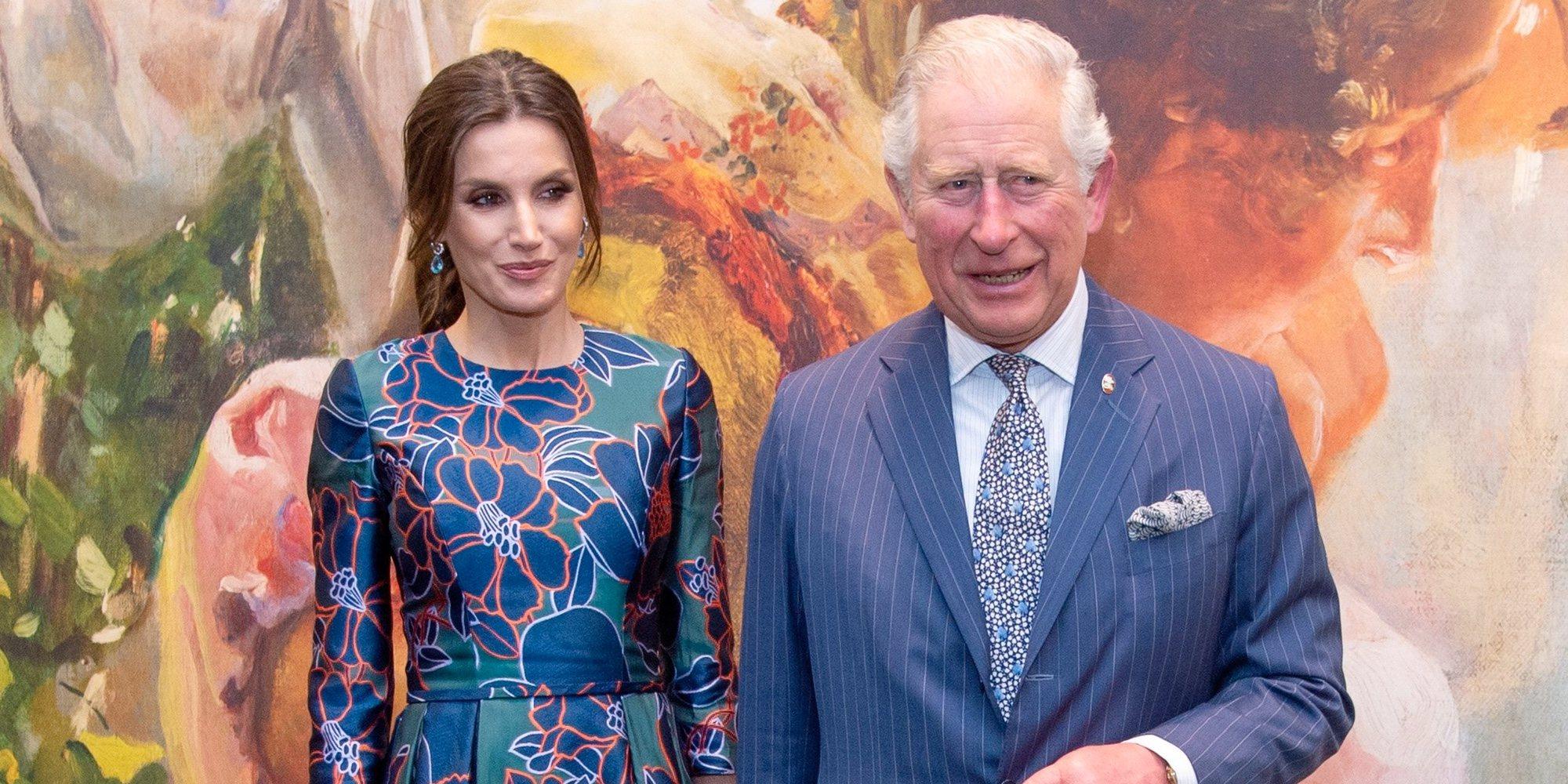 Lady Sarah Chatto, la royal que se 'coló' en el encuentro entre la Reina Letizia y el Príncipe Carlos
