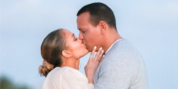 Las fotos del momento en el que Alex Rodríguez pidió matrimonio a Jennifer Lopez