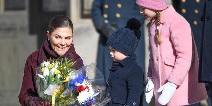 Estela y Oscar de Suecia, dos hermanos muy distintos en la celebración del Día del Nombre en honor a Victoria de Suecia