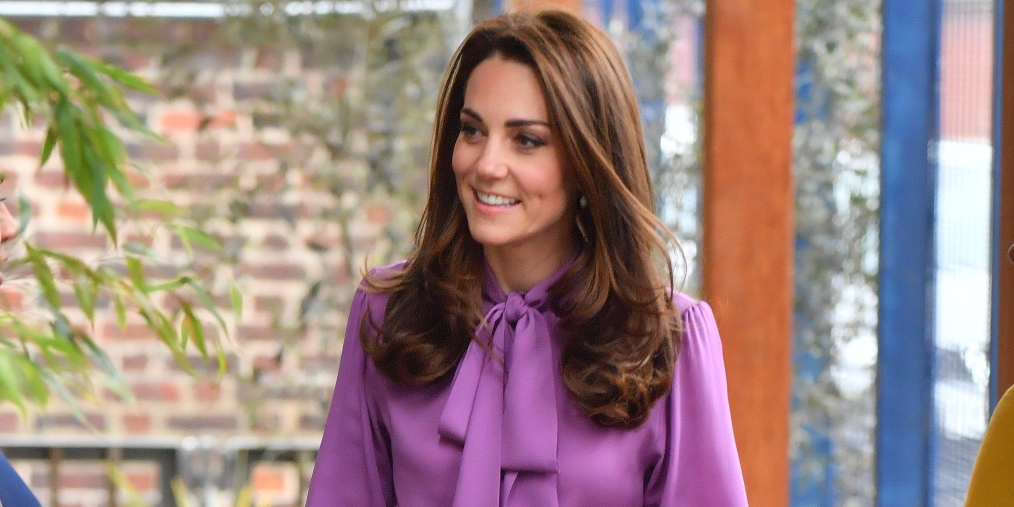 Kate Middleton luce el look más feminista en su día más ajetreado